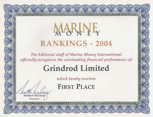 History - Grindrod Shipping